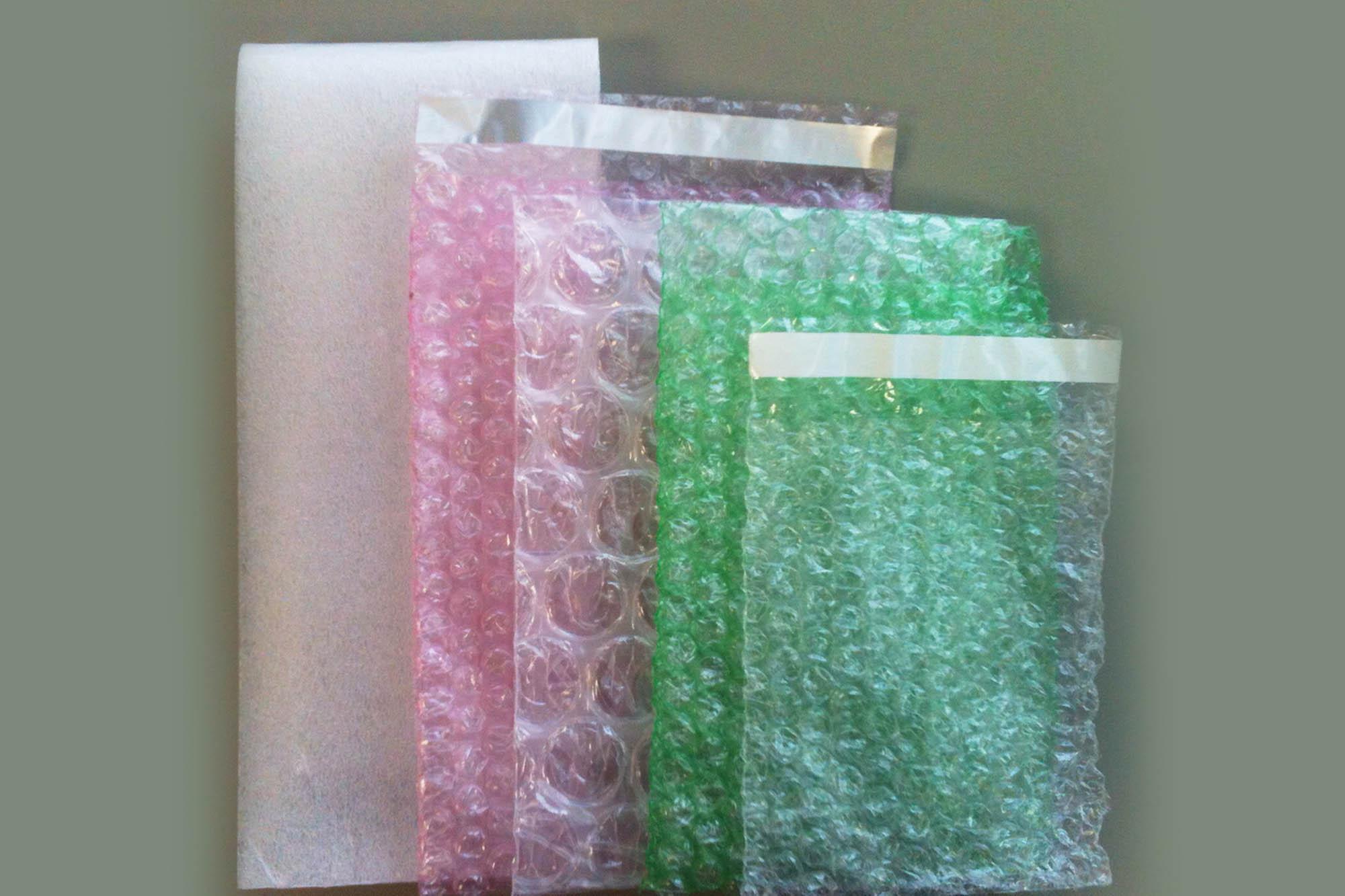 Bubble wrap bags