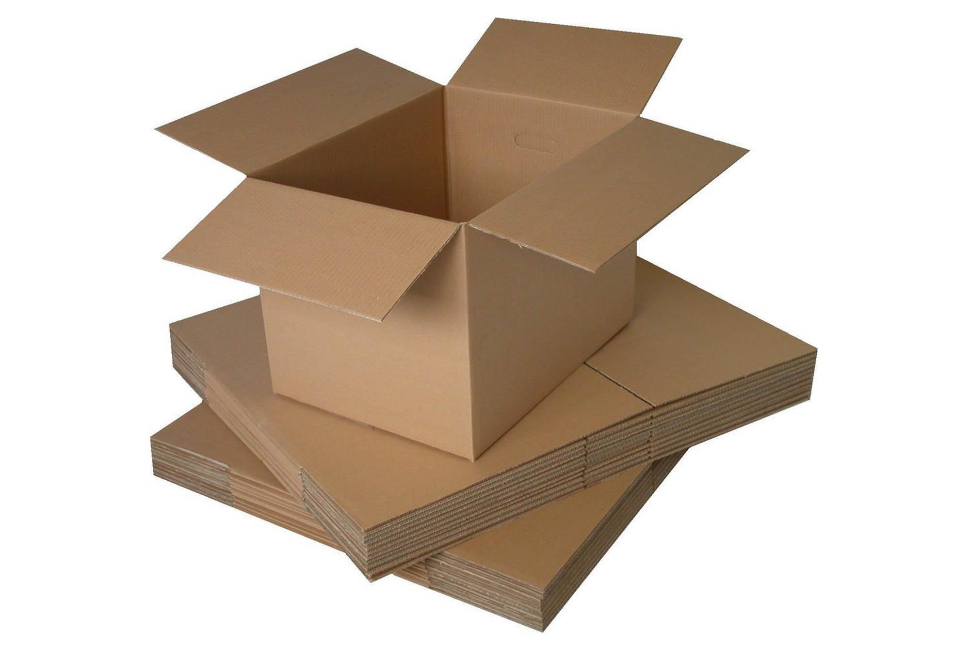 Currugated cardboard box