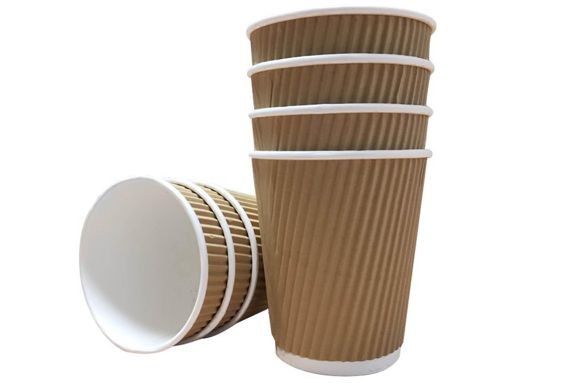Kraft ripple cup
