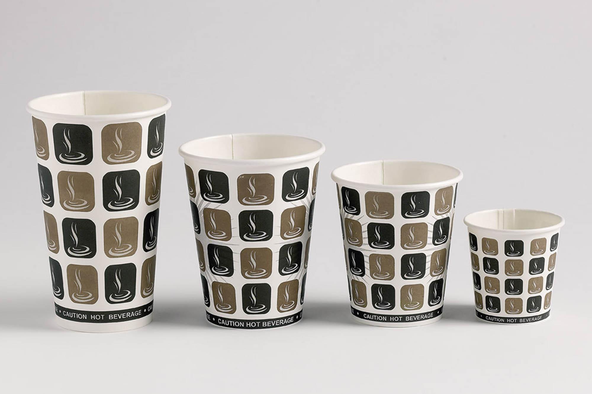 Mocha coffee cups